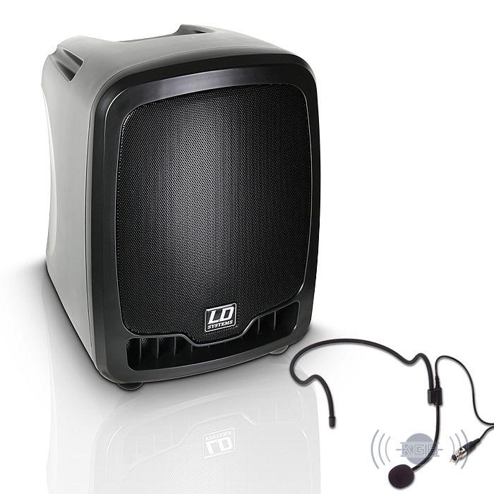 ld systems roadboy 65 mobiler pa lautsprecher mit headset 536 50. Black Bedroom Furniture Sets. Home Design Ideas